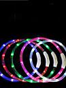 Chiens Cravate / Noeud Papillon Lampe LED Ajustable / Reglable Rechargeable TPU Rouge Vert Bleu