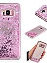 Capinha Para Samsung Galaxy S7 edge / S7 Liquido Flutuante / Espelho Capa traseira Glitter Brilhante Rigida TPU para S9 / S8 Plus / S8