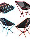 Hopfällbar campingstol Utomhus Lättvikt Aluminium Alloy 7005, Oxfordtyg för Fiske / Strand / Camping - 1 person Orange / Mörkblå / Fuchsia