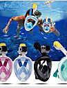 Dykning Masker Lækagesikker GoPro-kompatibel Anti-Tåge Enkelt Vindue - Svømning Dykning Snorkling silica Gel - til Børne Voksen Grøn Blå Lys pink