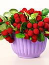 Konstgjorda blommor 1 Gren Rustik Frukt Bordsblomma