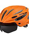 GUB® Voksen Bike Helmet 17 Ventiler CE CPSC Nedslags Resistent Aftagelig visir Ventilation EPS PC Sport Udendørs Træning Cykling / Cykel - Rød Grøn Mørkegrå / Integralt støbt