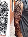 3 pcs Временные тату Временные татуировки Мультипликационные серии Искусство тела рука