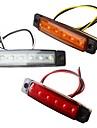 ZIQIAO 2pcs Automatique Ampoules electriques 1.5W LED SMD 120lm 6 Eclairage exterieur For Universel Universel Toutes les Annees