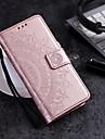 Capinha Para Samsung Galaxy A8 Plus 2018 / A8 2018 Carteira / Porta-Cartao / Flip Capa Protecao Completa Flor Rigida PU Leather para A3 (2017) / A5 (2017) / A8 2018
