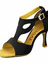 הסנדלים של נשים להתאמה אישית לטיניות מותאמים אישית העקב עם נעלי ריקוד buckie (יותר צבעים)