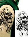 3 pcs Tatoveringsklistremerker midlertidige Tatoveringer Totem Serier kropps~~POS=TRUNC arm