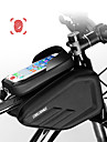 CoolChange Handy-Tasche / Fahrradrahmentasche 6.0/6.2 Zoll Touchscreen, Wasserdicht Radsport fuer Radsport / iPhone X / iPhone XR Schwarz