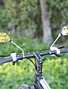 Espejo retrovisor Espejo retrovisor para manillar de bicicleta Ajustable / Retractable Para Bicicleta de Pista Bicicleta de Montana Ciclismo vidrio ABS Negro 2 pcs