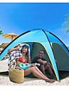 4 شخص خيمة شفافة منزل شفاف في الهواء الطلق خفة الوزن مقاوم للأشعة فوق البنفسجية مكتشف الأمطار طبقة واحدة قطب الماسورة خيمة التخييم <1000 mm إلى شاطئ Camping / Hiking / Caving تيريليني 210*210*130 cm