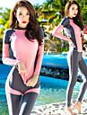 Női Búvárruha UV Napvédelem Gyors szárítás UPF50+ Nejlon Teljes védelem Fürdőruha Strandruházat Rash guard 3 db Úszás Búvárkodás Szabadtüdős merülés