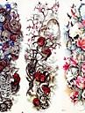 3 pcs Временные татуировки Гладкий стикер / Экологичные / Одноразового использования рука / ножка Картон / Временные татуировки в стиле деколь