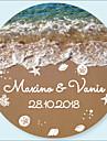 Esküvő Matricák, címkék és címkék - 48 pcs Körkörös Matricák / Boríték matrica Minden évszak