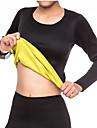 الجسم المشكل كورسيه تنحيف الخصر قميص طويل الأكمام النيوبرين قابل للبسط بدون سوستة التخسيس فقدان الوزن البطن الدهون الموقد لياقة بدنية تمرين نادي رياضي اكتشف - حل إلى عن على نسائي ذراع بطن