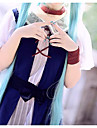 Inspirado por Vocaloid Hatsune Miku Anime Disfraces de cosplay Trajes Cosplay Simple Falda / Cinturon / Para la Cabeza Para Mujer / Raso