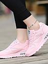 Női Tornacipők Gyaloglás Futás Kocogás Könnyű Lélegzési képesség Porbiztos Szintetikus bőr Fukszia Kék Rózsaszín / Viseletbiztos