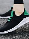 رجالي أحذية رياضية مطاط المشي ركض الركض خفة الوزن متنفس المضادة للاهتزاز شبكة قابلة للتنفس أبيض أسود أخضر