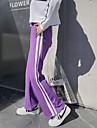 สำหรับผู้หญิง ขากว้าง กางเกง Jogger กางเกงใส่วิ่ง สีม่วง แดง ฟ้า กีฬา สลับ กางเกงวอร์ม ด้านล่าง การออกกำลังกาย ยิมออกกำลังกาย ออกไปทำงาน ชุดทำงาน ระบายอากาศ แห้งเร็ว นุ่ม Sweat-wicking ผสมยางยืดไมโคร