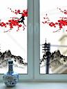 Glasfolie en stickers Decoratie Artistiek / Retro / Klassiek Bloemen PVC Nieuw Design / Cool
