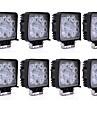 8 darab 27w 1755lm nagy teljesítményű atv kombinált világítási minta vezetett munka világítás