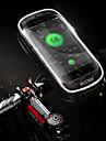 Bike Handlebar Bag 5.7-6.3 inch Touch Screen, Waterproof Cycling for Cycling Black
