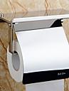 トイレットペーパーホルダー 新デザイン / クール 近代の ステンレス鋼 / 鉄 1個 トイレットペーパーホルダー 壁式