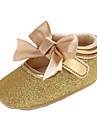 Κοριτσίστικα Παπούτσια PVC Φθινόπωρο & Χειμώνας Ανατομικό / Πρώτα Βήματα Μπότες Φιόγκος / Αγκράφα / Ταινία Δεσίματος για Παιδιά Μαύρο / Ασημί / Ροζ