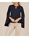 Γυναικεία Μπλούζα Μονόχρωμο Πολύ στενό