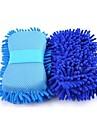multi-funksjon mikrofiber bilvask svamp premium chenille vaske svamper for bil