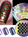 24 pcs Oca Prego Adesivos Criativo arte de unha Manicure e pedicure Multifuncao / Melhor qualidade Na moda / Fashion Diario