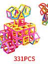 Azulejos magneticos 331 pcs El modelo geometrico Todo Juguet Regalo