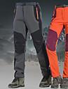 Női Planinarske hlače Külső Szélbiztos Vízálló Könnyű Tél Softshell Alsók Túrázás Mászás Kemping Narancssárga Bíbor Katonai zöld XXXL 4XL 5 XL / Nyúlós