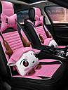 Pokrowce na fotele Zagłówki i talerze Zestawy poduszki Różowy Włókno syntetyczne Kreskówki Na Univerzál Wszystkie roczniki Wszystkie modele