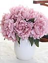 Kunstbloemen 5 Tak Klassiek Bruidsboeketten Pastoraal Stijl Pioenen Bloemen voor op tafel