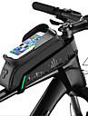 ROCKBROS טלפון נייד תיק / תיקים למסגרת האופניים 5.8/6.0 אִינְטשׁ מסך מגע, עמיד למים, נייד רכיבת אופניים ל רכיבה על אופניים / iPhone X / iPhone XR ירוק- שחור / iPhone XS / iPhone XS Max