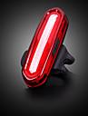LED Kerékpár világítás Kerékpár hátsó lámpa biztonsági világítás hátsó lámpák Hegyi biciklizés Kerékpározás Vízálló Hordozható USB Újratölthető elem 120 lm Újratölthető Kempingezés / Túrázás / ABS