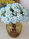 Kunstbloemen 9 Tak Klassiek Traditioneel / Klassiek Europees Hortensia\'s Eeuwige bloemen Bloemen voor op tafel