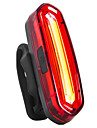 Rear Bike Tail Light Safety Light Tail Light Bike Light LED Cycling Waterproof 360° Rotation Portable USB 110 lm USB Red Cycling / Bike - INBIKE / ABS / IPX-4 / Multiple Modes