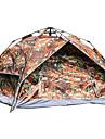 Sheng yuan 3 osoby Plaj Çadırı Rodinné kempování stan Outdoor Větruvzdorné Prodyšnost dvouvrstvé Tyč Camping Tent 2000-3000 mm pro Plážové Kempování a turistika cestování Tkanina Oxford 200*230*140