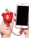 micro USB / Tipo-C Adaptador de cabo USB Raso / 1 a 2 / Alta Velocidade Cabo Para Samsung / Huawei / LG 100 cm Para TPE / ABS + PC