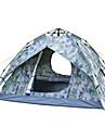 Sheng yuan 3 osoby Plaj Çadırı Rodinné kempování stan Outdoor Větruvzdorné Prodyšnost dvouvrstvé Tyč Camping Tent 2000-3000 mm pro Plážové Kempování a turistika cestování Tkanina Oxford 185*205*120