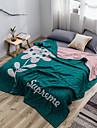 Bed Blankets, Floral Cotton Soft Comfy Super Soft Blankets