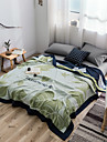 Bed Blankets, Plants Cotton Soft Comfy Super Soft Blankets