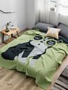 Bed Blankets, Cartoon Cotton Soft Comfy Super Soft Blankets