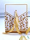 Triangolo Carta pura Porta-bomboniera con A fantasia / stampa Confezioni regalo - 100 pezzi