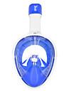 YON SUB Dykning Masker Undervands 180 grader Anti-Tåge Enkelt Vindue - Svømning Dykning Vandsport Silikone - til Voksen Gul Blå Lilla