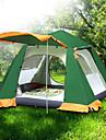 6 osob Rodinné kempování stan Outdoor Větruvzdorné Odolná proti UV záření Odolné vůči dešti dvouvrstvé Automatický Camping Tent 2000-3000 mm pro Kempování a turistika cestování Piknik Terylen