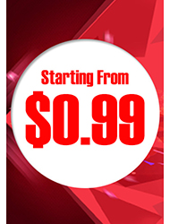 Starting from $0.99